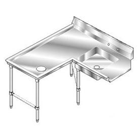 16 Gauge 304 Stainless Steel Deluxe Dishtables