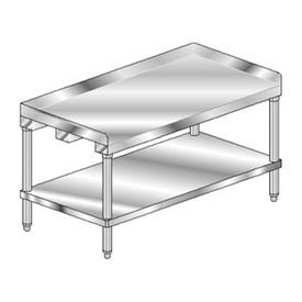 Premium Stainless Steel Equipment Stands With Galvanized Understructure