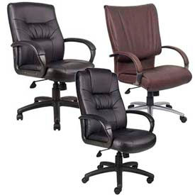 Boss Chair -  Executive Leatherplus Office Seating