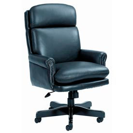 Boss Chair -  Traditional High Back Executive Leather Chairs