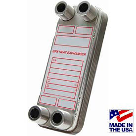 High Pressure Brazed Plate Heat Exchangers With Mounting Tabs