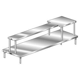 Deluxe Table Mount Stainless Steel Microwave Shelves