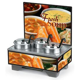 Vollrath® Cayenne® Full-Size Merchandisers
