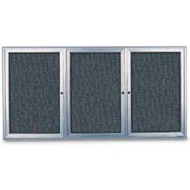 3 Door Enclosed Easy Tack Boards