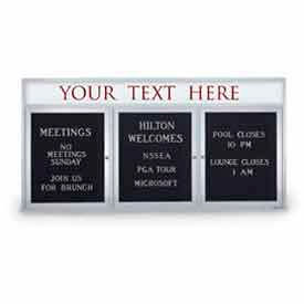 Indoor Illuminated 2-3 Door Letter Boards