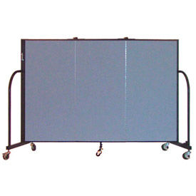 Screenflex® - Fabric Upholstered Mobile Room Dividers - 4 Ft Height