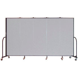 Screenflex® - Fabric Upholstered Mobile Room Dividers - 7 Ft 4 In Height