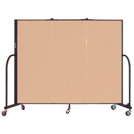Screenflex® - Vinyl Upholstered Mobile Room Dividers - 5 Ft Height