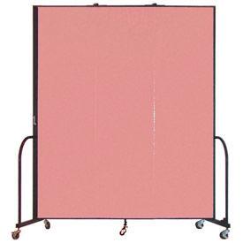 Screenflex® - Vinyl Upholstered Mobile Room Dividers - 6 Ft Height