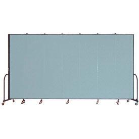 Screenflex® - Vinyl Upholstered Mobile Room Dividers - 6 Ft 8 In Height
