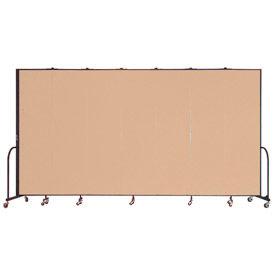 Screenflex® - Vinyl Upholstered Mobile Room Dividers - 7 Ft 4 In Height