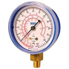 Wika® Commercial Refrigeration Gauges