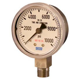 Wika® Chrome Plated Specialty Industrial Gas Gauges