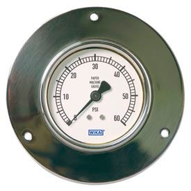 Wika® Forged Brass Paper Machine Gauges