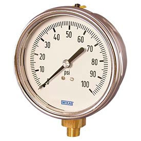 Wika® Industrial Gauges With Swiss Grade Movement