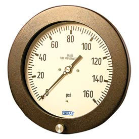 Wika® Aluminum Safety Process Gauges With Stainless Steel Wetted Parts
