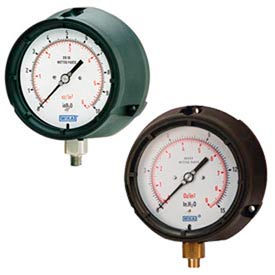 Wika® Thermoplastic Pressure Gauges With Sensitive Capsule System