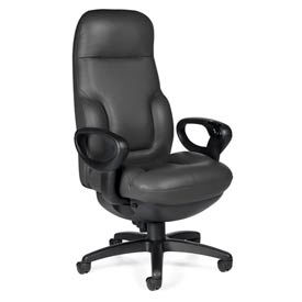 Global™ Concorde® Executive 24 Hour Big & Tall Leather Chair