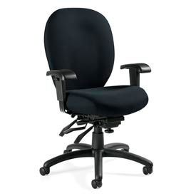 Global™ Mallorca™ Fabric Upholstered Office Chairs