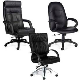 Global™ Arturo™ Leather Executive Chairs