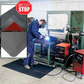 NOTRAX® RedStop™ Anti-Fatigue Safety Mats