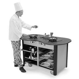 Lakeside® Creation Station™ Mobile Cooking Carts