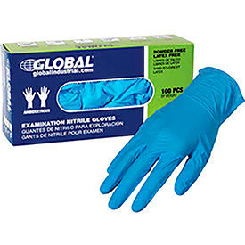 Powder Free Nitrile Textured Exam Gloves