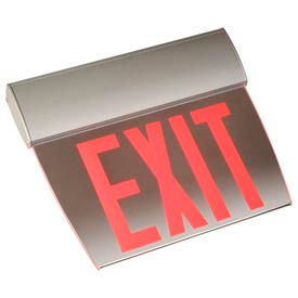 Economy Edge-Lit Exit Signs