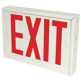 Steel & New York City Approved Exit Signs