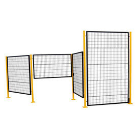 Adjustable Perimeter Guard Partition System