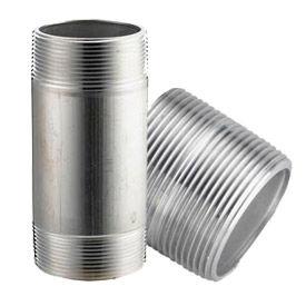 Merit Brass Aluminum Schedule 40 Pipe Nipples