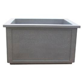 Wausau Tile - Rectangular Concrete Planters – 60 To 66 Inch Wide