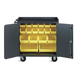 Valley Craft Multiple Bin Cabinet