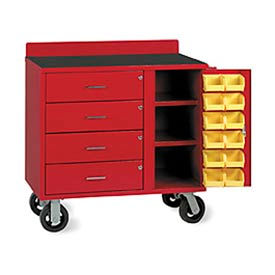 Valley Craft Portable Bin Cabinet