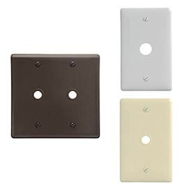 Bryant® Nylon Voice And Data Wall Plates
