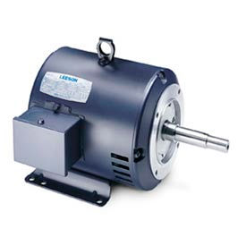 Leeson JM Pump Motors, Three-Phase, Drip-Proof, Rigid Base