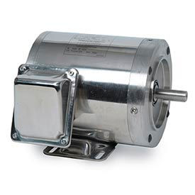 Leeson Washguard SST All-Stainless Washdown Motors, 1 & 3 Phase