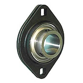 Browning Flange Mounted Ball Bearing, Stamped, 2 Bolt