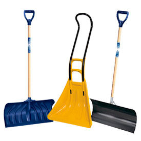 Snow Scoops, Shovels, & Scrapers