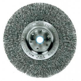 Narrow Face Crimped Wire Wheel Brushes