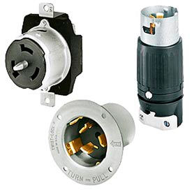 Bryant® 3-Pole 3-Wire 50 Amp Locking Devices