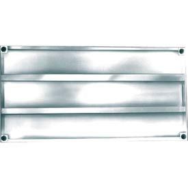 Sani-Adjustable Aluminum Shelving Components