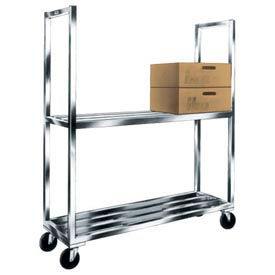 "Aluminum ""Sani-Mobile Cooler"" Shelf Truck"