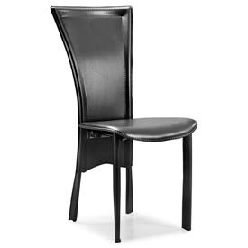 WS301 Ultra-Modern Leatherette Dining Chair by World Source