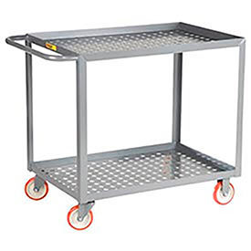Perforated Shelf Service Carts