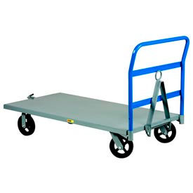 Little Giant® Caster Steer Steel Deck Trailers