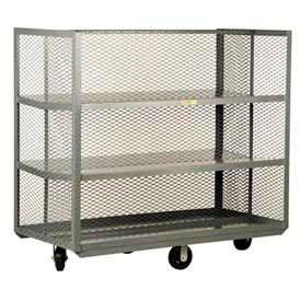 Little Giant® Sloped Shelf Clearview Steel Mesh Stock Trucks