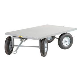 Little Giant® Steel Deck Double Fifth-Wheel Steer Tracking Trailer