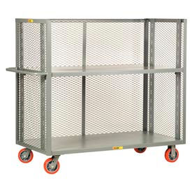 3-Sided Mesh Panel Adjustable Shelf  Trucks