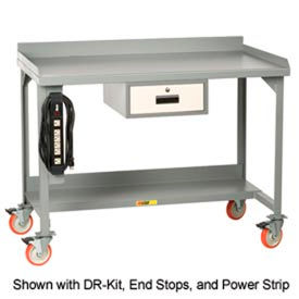 Little Giant® Mobile Workbenches With Backstop